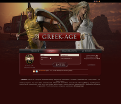 Greek-age - role playing game (RPG)