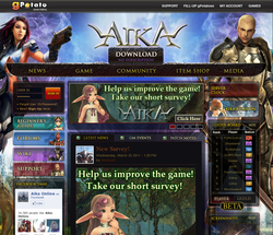 Aika online F2P MMO