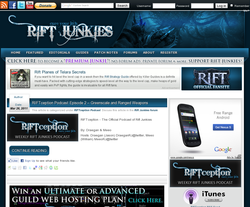 RIFT Junkies -  Planes of Telara Fansite