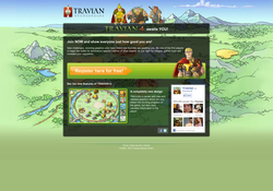 Travian - the multiplayer strategy game