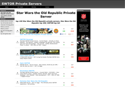 star wars the old republic private servers