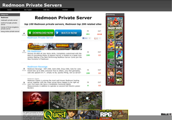 Redmoon Private Servers