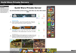 Guild Wars Private Servers