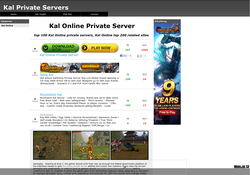 Kal Online Private Servers