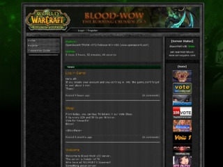 Blood-WoW TBC(x30) Instant 70 Funserver(PVP-PVE)