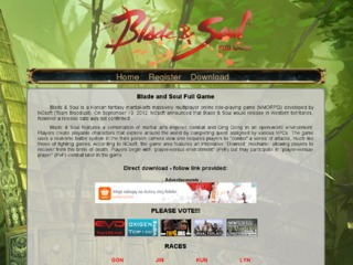 Blade and Soul FULL GAME 2013