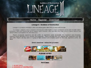 Lineage II Goddess of Destruction HQ