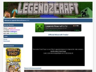 Legendz Minecraft 1.7.2