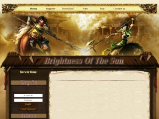 Brightness Of The Sun - Classic Server