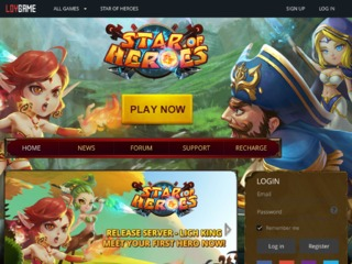 Free To Play RPG, Star of Heroes
