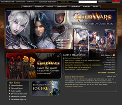 Guild Wars Offical site